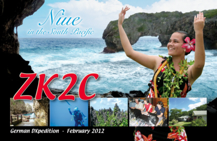 QSLcard ZK2C